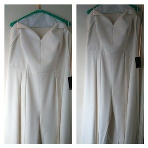 Stylish Off/White Jumpsuit
